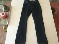 NYDJ Not Your Daughters Jeans Petite Marilyn Straight Sz 10 dark wash