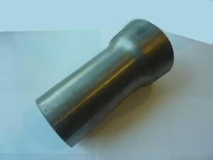 """1.5"""" to 3""""  Exhaust  Weld On Reducer Connector Pipe Custom Stainless Steel T304"""