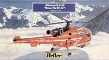 Heller 80289 1 72 Scale SA 316b Alouette III SECURITE Civile Model