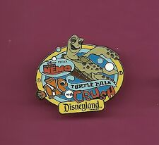 CRUSH Turtle Talk Finding Nemo Pixar AAA Vacation Splendid Disneyland Pin Yellow