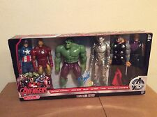 SIGNED Stan Lee Marvel Avengers Ultron Titan Hero Series 6 Figure Set Target New