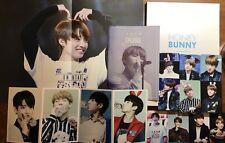 BTS Jungkook Fansite Photobook+photocard+poster+folded Postcard Bangtan