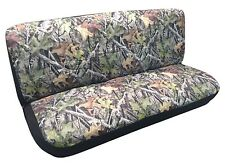 Camo Bench Seat Cover Camouflage Forest Gray Fits Chevy Silverado