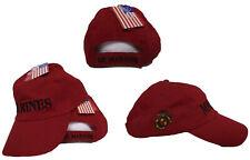 US MARINE Marines EGA USMC Dark Red relax style Ball Cap Hat RUF