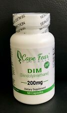 DIM  200mg x 60 Caps Diindolyl Methane for Estrogen Control and Metabolism