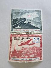 FRANCE FRANCE 1942 LEGION LVF n° 4-5 NEUFS* TRES BIEN  /ct5980