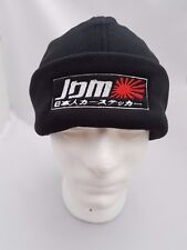 JDM Embroidered Micro Fleece Beanie / Hat Honda Japan