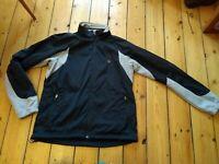 Pearl Izumi Womens cycling jacket Black Medium Spring Warm Bike Top Jersey