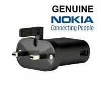 Genuine Nokia FC0201 1A Mains Wall USB Charger Adapter For Lumia Asha - Black