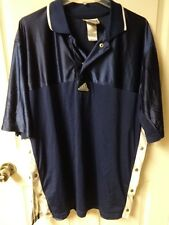 Vintage Adidas Button Up Sides Warm Up Basketball Jersey Men Xl Blue