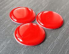 3x NFC Tag Sticker rosso con Mifare Classic ® CHIP-resina epossidica adesivo Outdoor - 1k