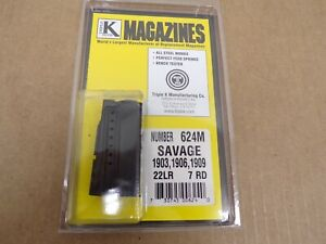 Savage Model 1903, 1906, 1909 Magazine by Triple K #624M