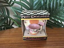 *Rare* Mary Engelbreit Collectible Miniature Cup and Saucer Figurine