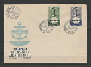 [Portugal 1952 – FDC NATO issued with Lisbon cancel]
