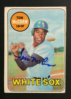 Tom McCraw White Sox signed 1969 Topps baseball card #388 Auto Autograph