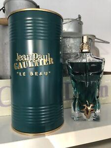 Jean Paul Gaultier Le Beau EDT 125 ml Eau de Toilette Spray - Wie NEU!