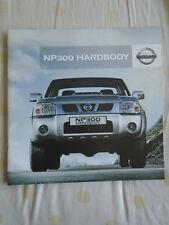 Nissan NP300 Hardbody range brochure Oct 2011 South African market