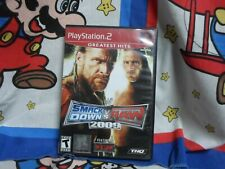 Playstation 2 WWE SmackDown vs. Raw 2009 Game COMPLETE