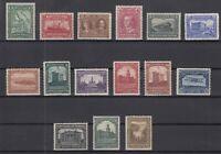 I3608/ CANADA – NEWFOUNDLAND – SCOTT # 145 / 159 COMPLETE MINT – CV 195 $