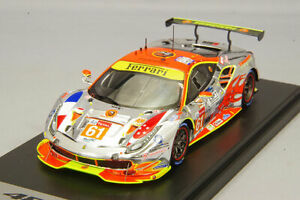 LookSmart LSLM086 1:43 Ferrari 488 GTE 2018 Le Mans 24H #61 Kidbox