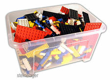 Lego® 1000g Steine + Platten BASIC ca. 700 Teile, Town City Creator kilo 1kg