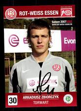 Arkadiusz Zbiorczyk Autogrammkarte Rot Weiss Essen 2007-08 Original Sig+A 131189