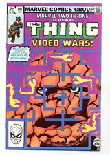 Marvel Two in One #98    The Thing Video Wars