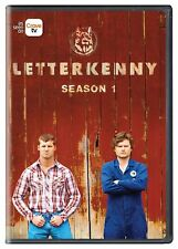 Letterkenny - Season 1 One [DVD Box Set Sitcom Jared Keeso Hockey Series TV] NEW