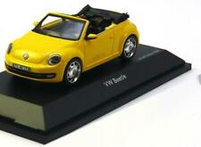 1:43 Schuco VW Beetle Convertible 2013 yellow