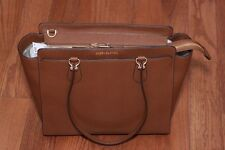 4bfd8fed3436 NWT Michael Kors  358 Dee Dee Large Leather Convertible Tote Handbag Luggage