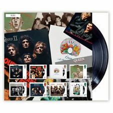 Great Britain 2020 Queen Album Collection Fan Sheet Stamps Limited Edition MUH