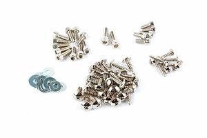 Verkleidungsschrauben Stahl chrom Yamaha Aerox / MBK Nitro