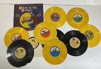 Lot Vintage 50's Childrens Christmas Vinyl 78 RPM Golden Peter Pan Sunny Songs