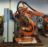 ABB IRB 6600 Spot Welding Robot with X-Type Servo Gun S4C Plus M2000A Controller