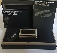 Porsche Design Moneyclip Geldschein klammer Carbon Optik