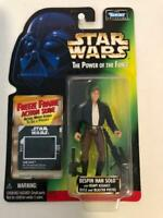Star Wars Power of the Force POTF2 Freeze Frame 1 Bespin Han Solo .02 Brown Pant