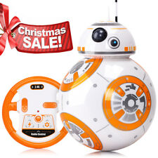 Star Wars Rc Bb-8 Robot Remote Control With Sound Gift Toy-Free Adaptor For Kids