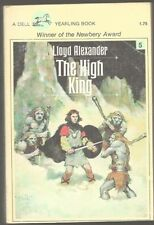 LLOYD ALEXANDER The High King. Prydain series.  Dell 1979 YA Fantasy classic