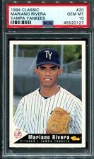 1994 Classic Tampa Yankees Mariano Rivera #20 Rookie RC PSA 10