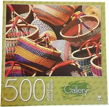 Gallery Baskets in Mixed Colors Puzzle 500 Pieces