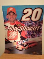 Tony Stewart #20 The Home Depot Chevrolet Lenticular Poster NASCAR New 20 x16""