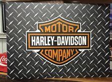 Harley Davidson Canvas Print Man cave Pub Bar Free Postage