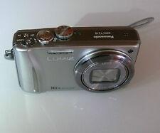 Panasonic LUMIX  DMC-TZ18 14,1 MP Digitalkamera - Silber beschädigt STAUB