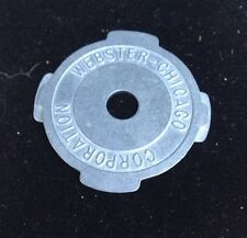 Vintage Metal Webster Chicago 45 RPM Record Insert Adapter Patent Applied (1)