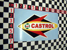Castrol Rocket Sticker - Scooter Lambretta