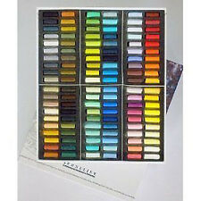 Sennelier Soft Pastel Set - Half Length - 120 Assorted - Paris Collection