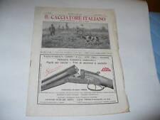 IL CACCIATORE ITALIANO RIVISTA CACCIA E PESCA N°31 1925