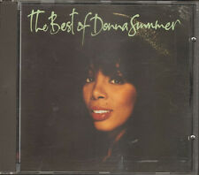 The Best of DONNA SUMMER 13 track CD I Feel Love Mac Arthur Park  Hot Stuff