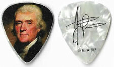 ( Staind ) Aaron Lewis color/pearl tour guitar pick