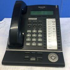 LOT OF 7 Panasonic KX-T7633 Business Telephone Black w/Headset